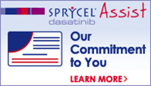 Learn more about the  SPRYCEL® Assist program