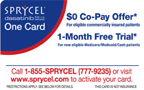 SPRYCEL One Card